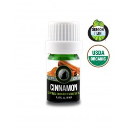 Cinnamon Bark Certified Organic Essential Oil