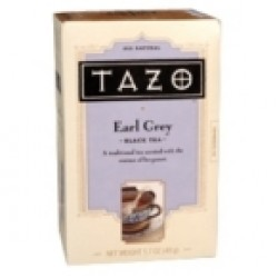 Tazo Tea Earl Grey Black Tea (6x20 Bag)