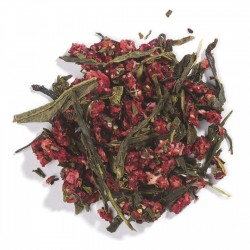 Strawberry-Flavored Green Tea with Fruit, Organic 1 lb