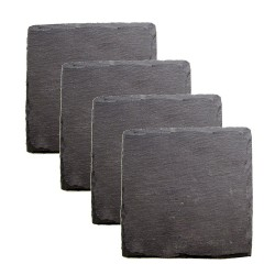 Country Home Square Slate Coasters by Twine