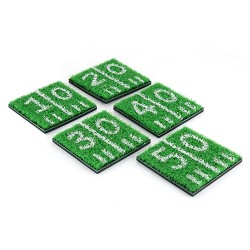 Home Turf Coasters by TrueZoo